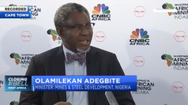 """Nigeria's gold exportation has potential to surpass oil and gas"" – Minister Olamilekan Adegbite."