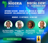 Nigeria's mining ministry unites industry in quest for prosperity at Nigeria Mining Week's Digital Event